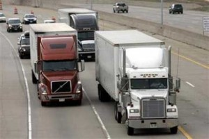 Commercial vehicles trveling on US roads are banned from texting