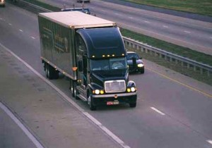 Semi truck carriers on US highways affected by DOT hours-of-service documents