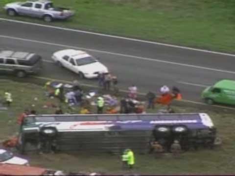 Tour Bus Crash Near San Antonio TX Kills 2, Injures 18 ...