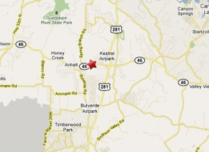 Location of fatal truck accident in Bulverde, TX on Texas Highway 46 just west of Old Boerne Rd.