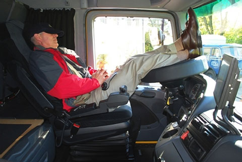 Fmcsa withdraws proposed regulatory guidance for for Camion americain interieur cabine