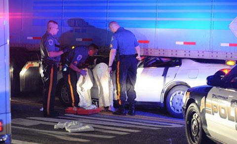 Georgia Car Accident Kills Woman August