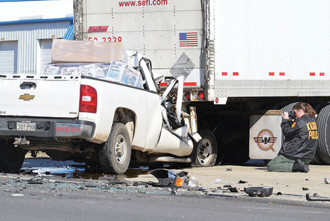 Kilgore Texas Man Dies After His Pickup Rear Ends Semi Truck on Hwy