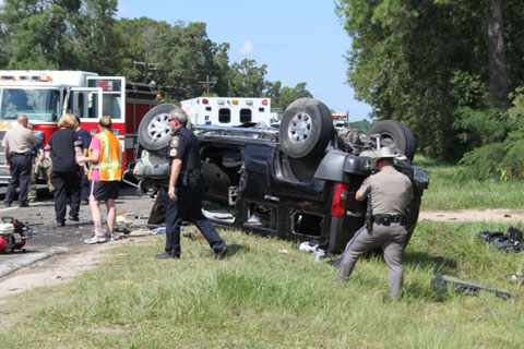 Motorist Seriously Injured in Cleveland TX Semi Truck Accident